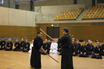 Kusama sensei demonstrating kendo no kata