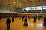Budo center - Warming up