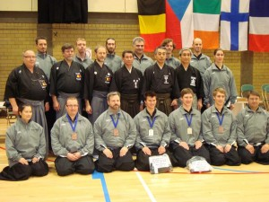 Belgian Team - European Iaido Championships 2012