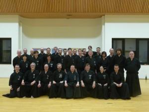 Belgian Eishin Kai - Oda sensei's students