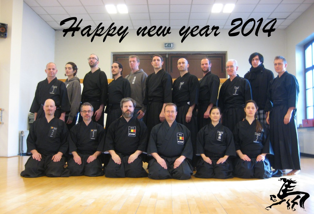 Happy new year 2014 - Brussels Yaegaki-Kai