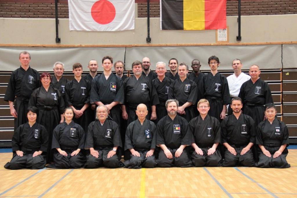 Eishin kai - Katsuo Oda students