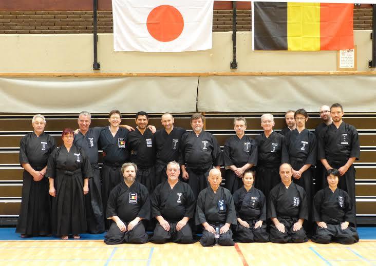 Eishin kai - Oda sensei students